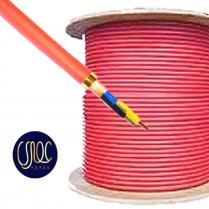 کابل  ۱/۵×۳ هالوژن فری شیلد و فویل دار با نوار میکا